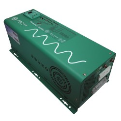 Aims 2500/5000 12V to 120V Pure Sine Wave Smart Power Inverter/Charger w/Transfer Switch with Installation Included