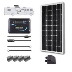Renogy 12V 100W RV Solar Kit Installed
