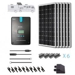 Renogy 12V 600W RV Solar Kit Installed