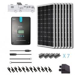 Renogy 12V 700W RV Solar Kit Installed