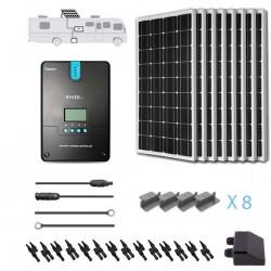 Renogy 12V 800W RV Solar Kit Installed