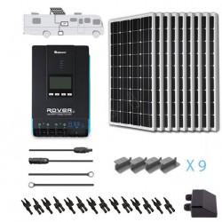 Renogy 12V 900W RV Solar Kit Installed