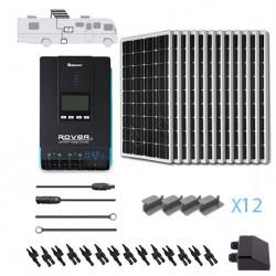 Renogy 12V 1200W RV Solar Kit Installed