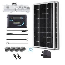 Renogy 12V 200W RV Solar Kit Installed