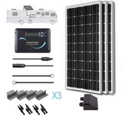 Renogy 12V 300W RV Solar Kit Installed