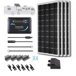 Renogy 12V 400W RV Solar Kit Installed